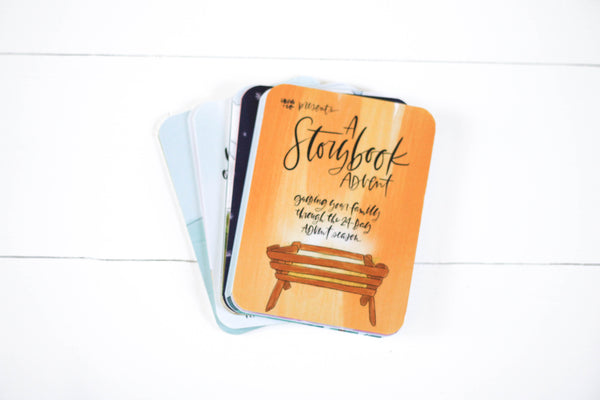 Advent Cards (HAND LETTERING)
