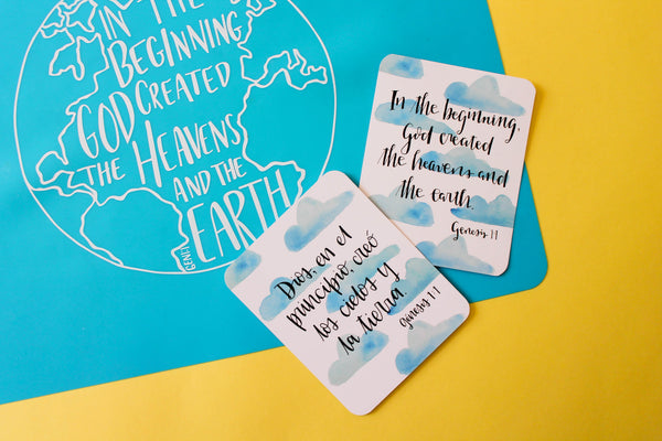 EDITION 1 SPANISH - Set of 52 Scripture Memory Cards