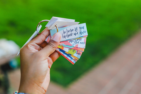 Travel-Size Encouragement Cards (LIMITED EDITION)