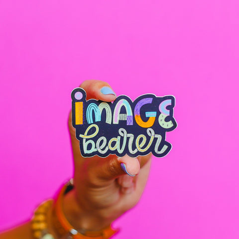 """Image Bearer"" Sticker • The Back To School Collection"