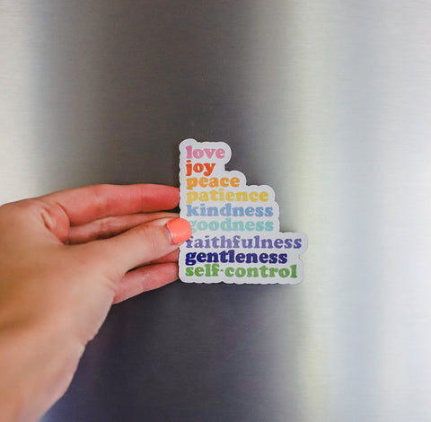 """Fruit of the Spirit"" Magnet"