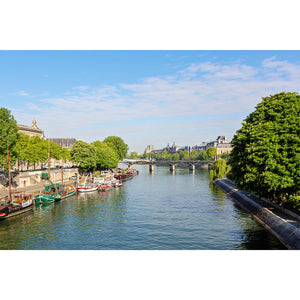 Afternoon Along the Seine Paris Photography Print 2x3
