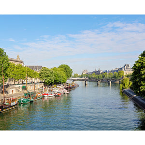 Afternoon Along the Seine Paris Photography Print 4x5