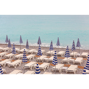 Nice France Beach Wall Art Print
