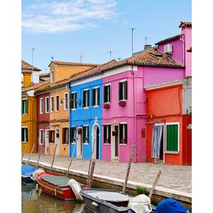 Colors of Burano Photography Series #5 4x5