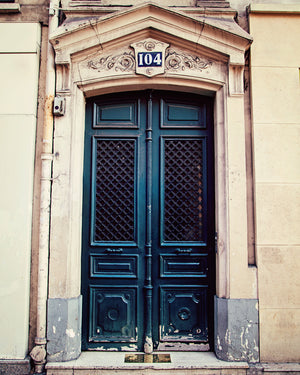 Paris Doors No. 104 | Melanie Alexandra Photography