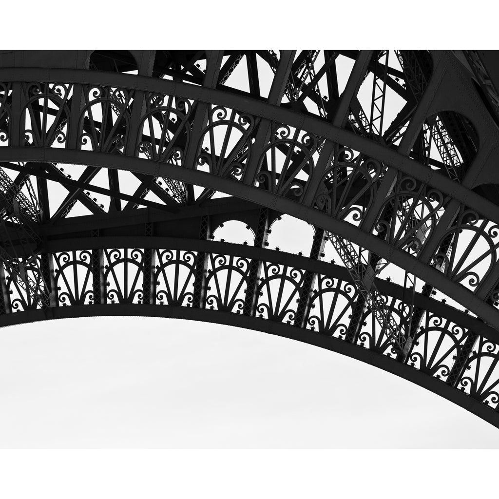 Eiffel Tower Silhouette Photography Print
