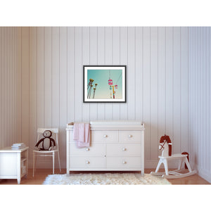 Nursery Wall Art Print Decor Example