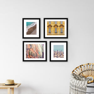 South of France Gallery Wall Example