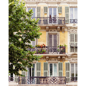 French Riviera Windows Photograph 4x5
