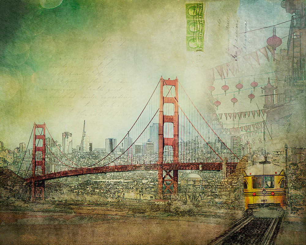 SUSPENSION | San Francisco Photography Print Home Decor