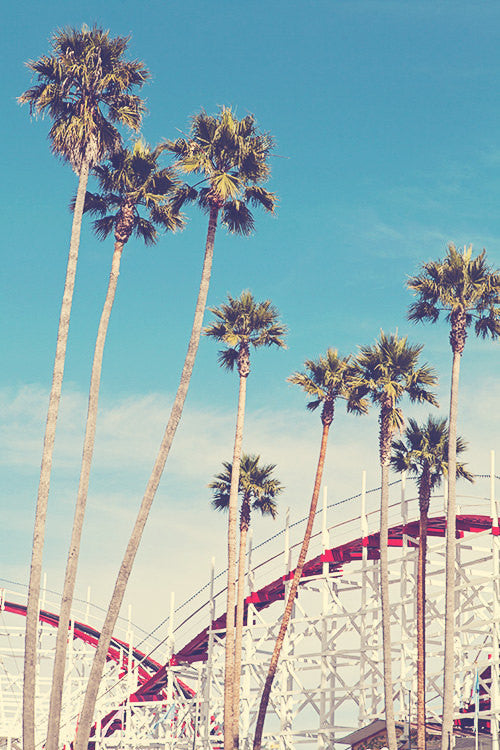 Feels Like Summer | Santa Cruz Boardwalk Photography