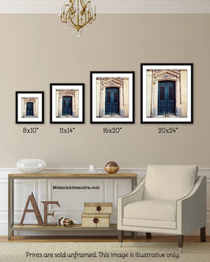 Paris Door Photography Wall Art - Sizes Available - Melanie Alexandra