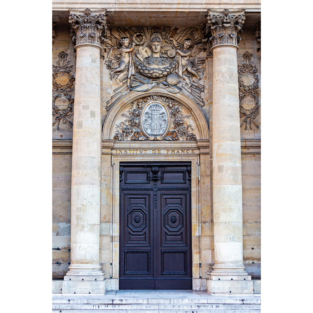 Institut de France Doors Photography Print
