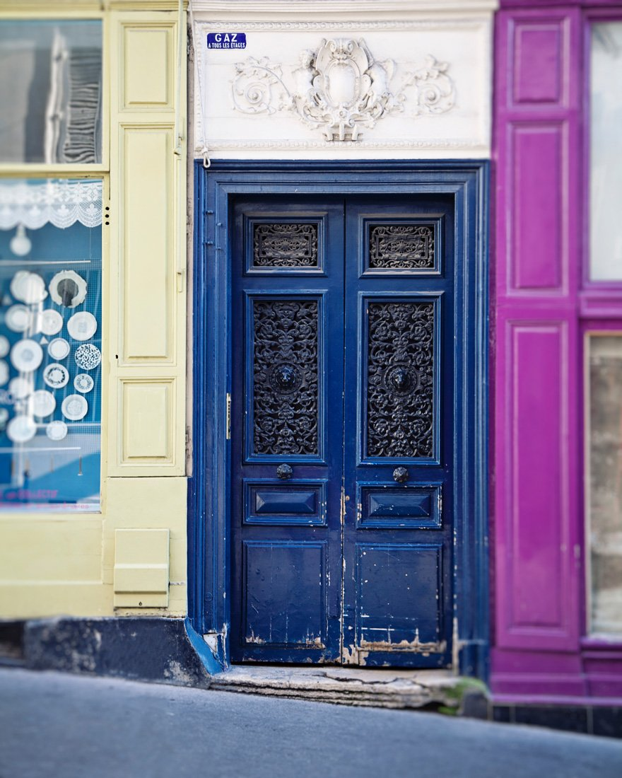 Montmartre Colors | Fine Art Paris Door Photography