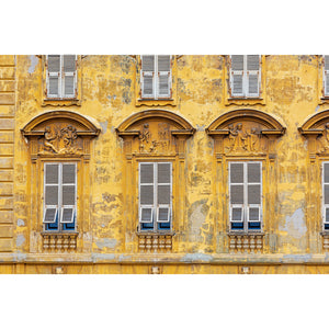 Old World Nice Architecture Facade Art Print 2x3