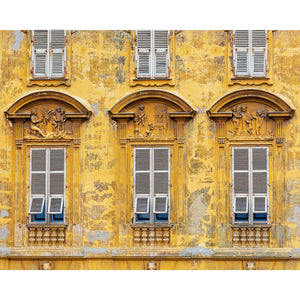 Old World Nice Architecture Facade Art Print 4x5