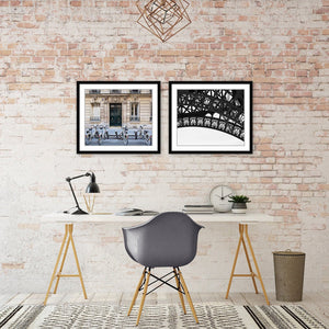 PARIS BICYCLES Wall Art Design Idea