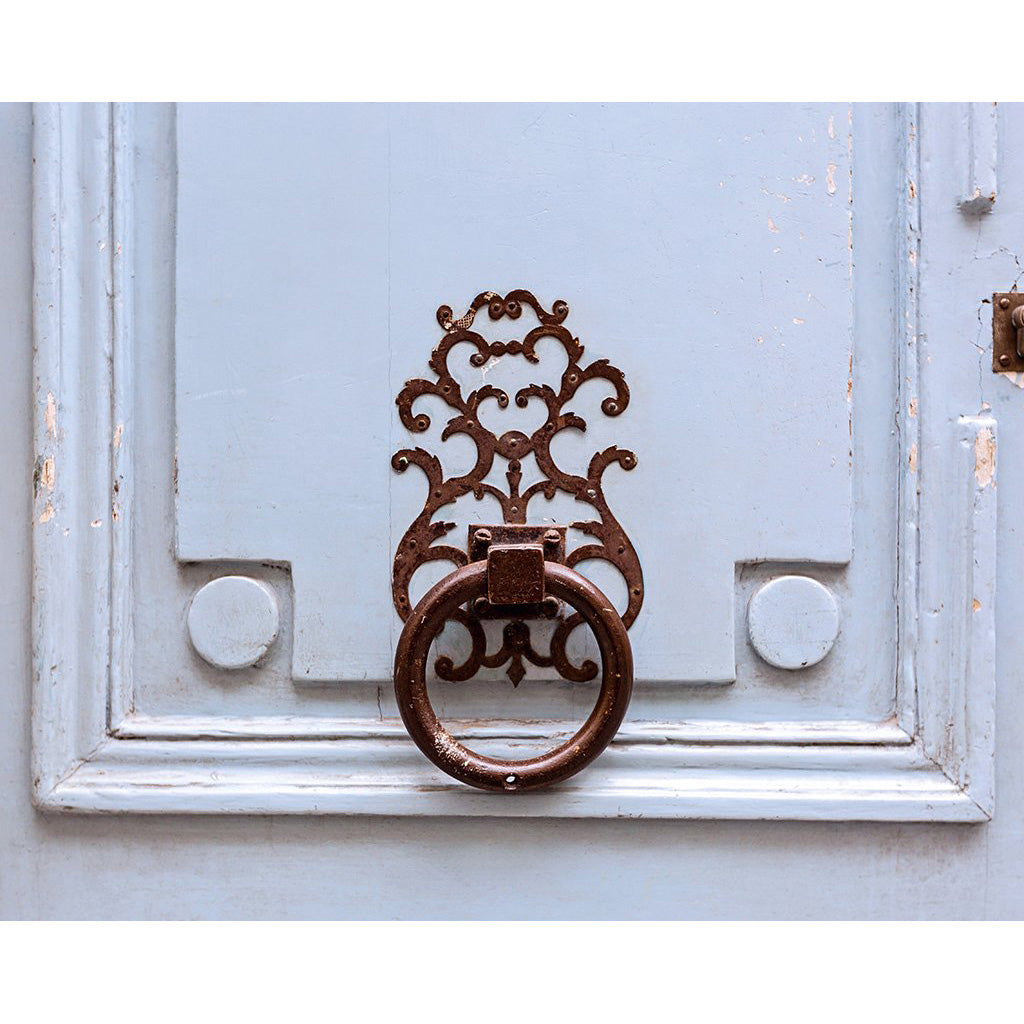 Vintage Paris Door Knocker Photograph