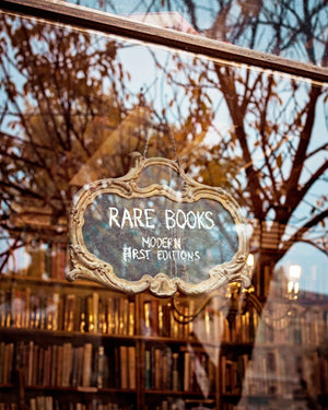RARITIES | Paris Bookstore Print