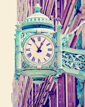 TELLING TIME | Chicago Wall Art Print