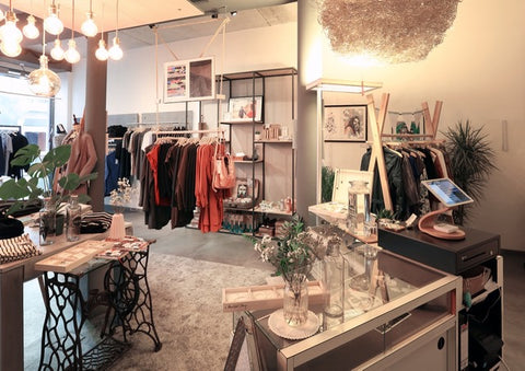 "Fair fashion and sustainable goods at ""Weltherz"" in Landau."