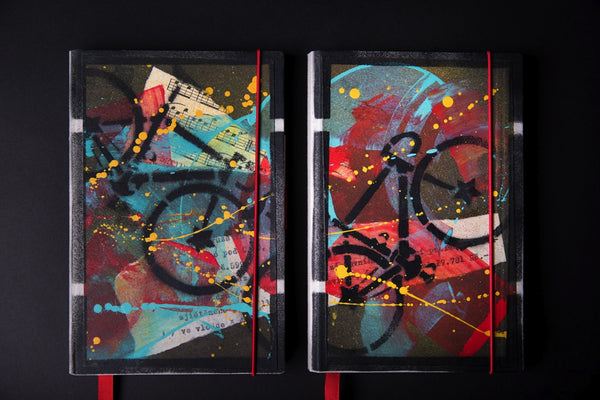 Set of the medium notebooks - Bike - number 1