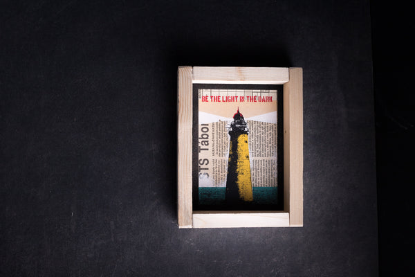 Lighthouse original print with frame S