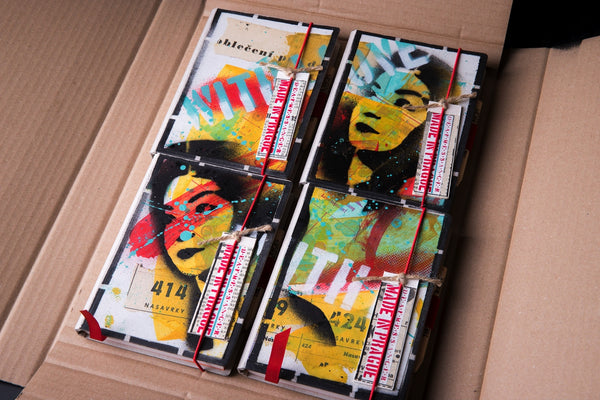 Set of the mini notebooks - Vietnam girl - number 24