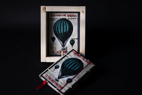 Baloon - mini notebook with frame