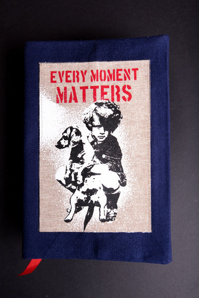 Booksleeve Girl with dog