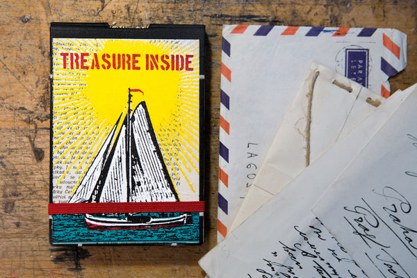 Treasure inside - reporter