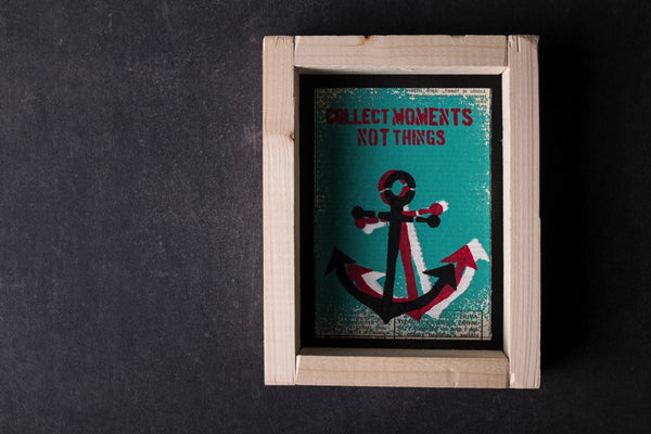 Anchor original print with frame S
