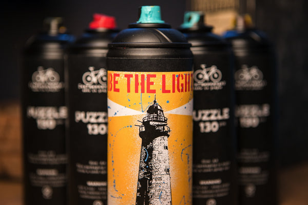 Lighthouse puzzle - spray can - CZ shipping only