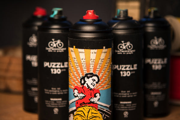 Rowing puzzle - spray can - CZ shipping only