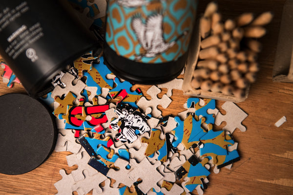 Wild goose puzzle - spray can - CZ shipping only