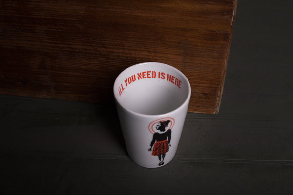 Karl porcelain cup TO GO - S