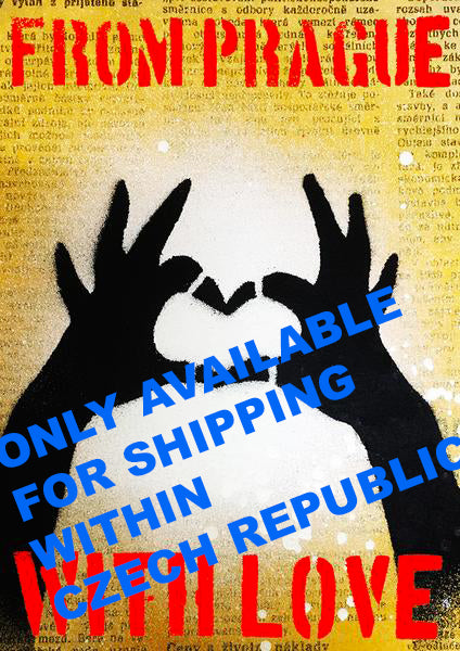 Handsheart puzzle - spray can - CZ shipping only