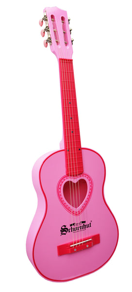 6 String Acoustic Guitar by Schoenhut - Thepinkstore.com