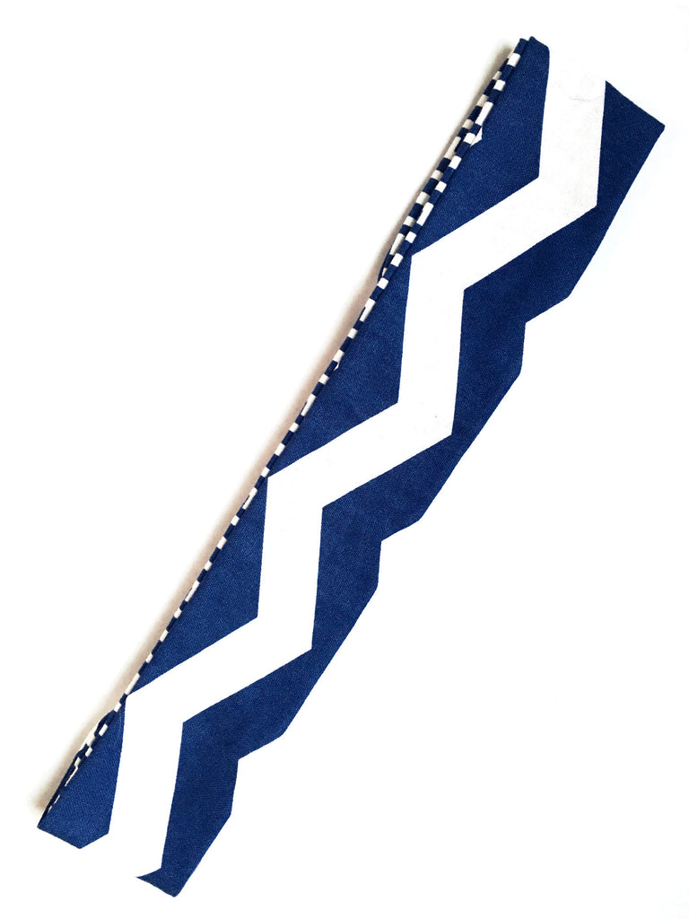 You Had Me At Chevron Reversible Headband - Thepinkstore.com - 2