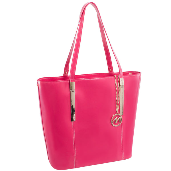 The Cristina Leather Shoulder Tote - Thepinkstore.com - 1