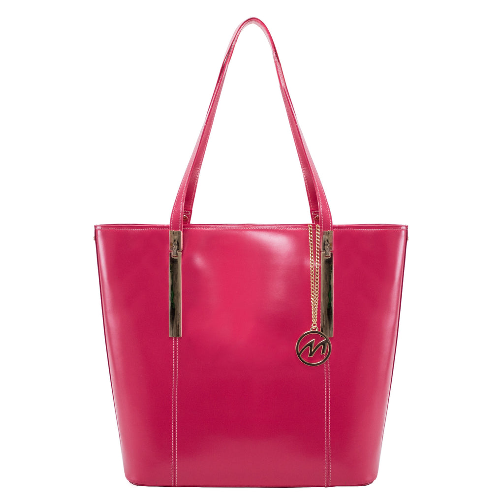 The Cristina Leather Shoulder Tote - Thepinkstore.com - 2