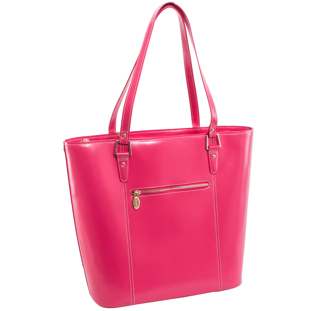 The Cristina Leather Shoulder Tote - Thepinkstore.com - 3