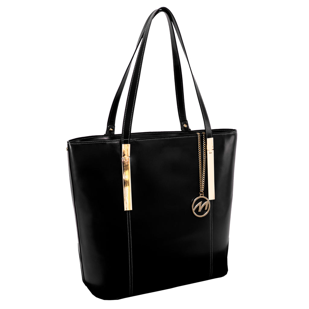 The Cristina Leather Shoulder Tote - Thepinkstore.com - 5