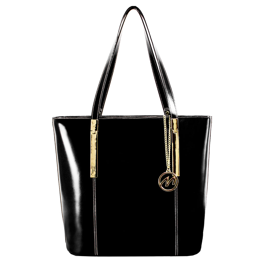 The Cristina Leather Shoulder Tote - Thepinkstore.com - 6