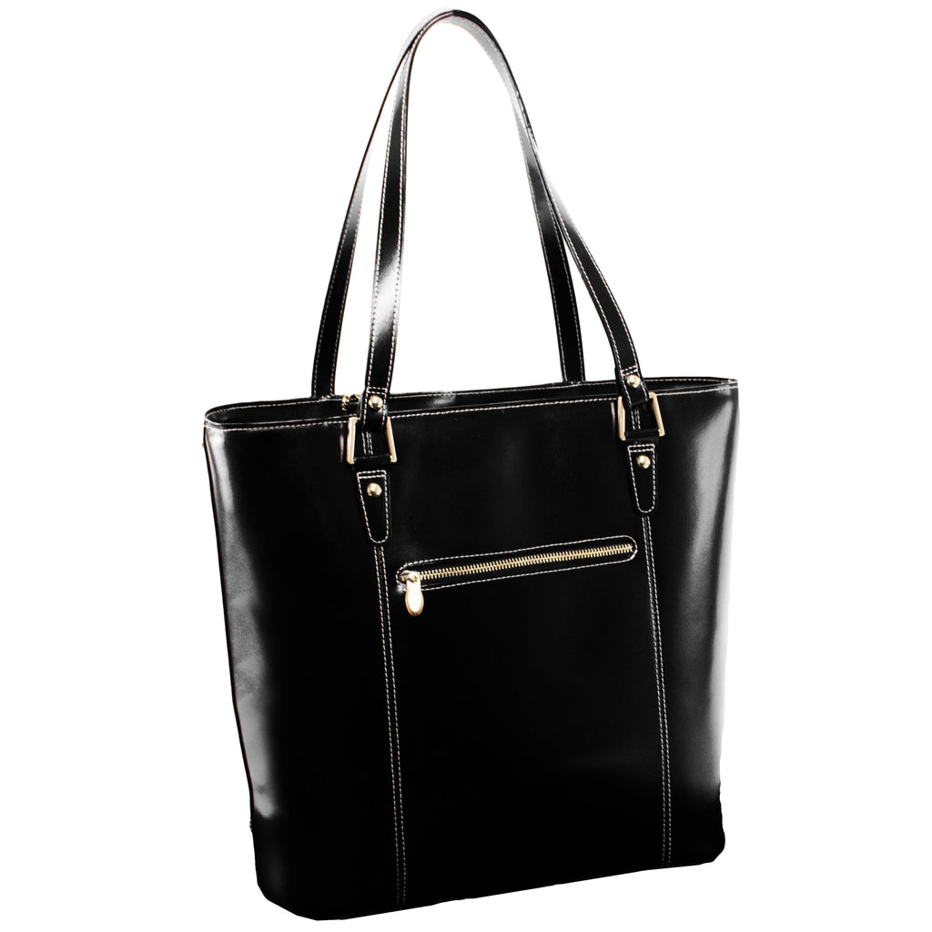 The Cristina Leather Shoulder Tote - Thepinkstore.com - 8