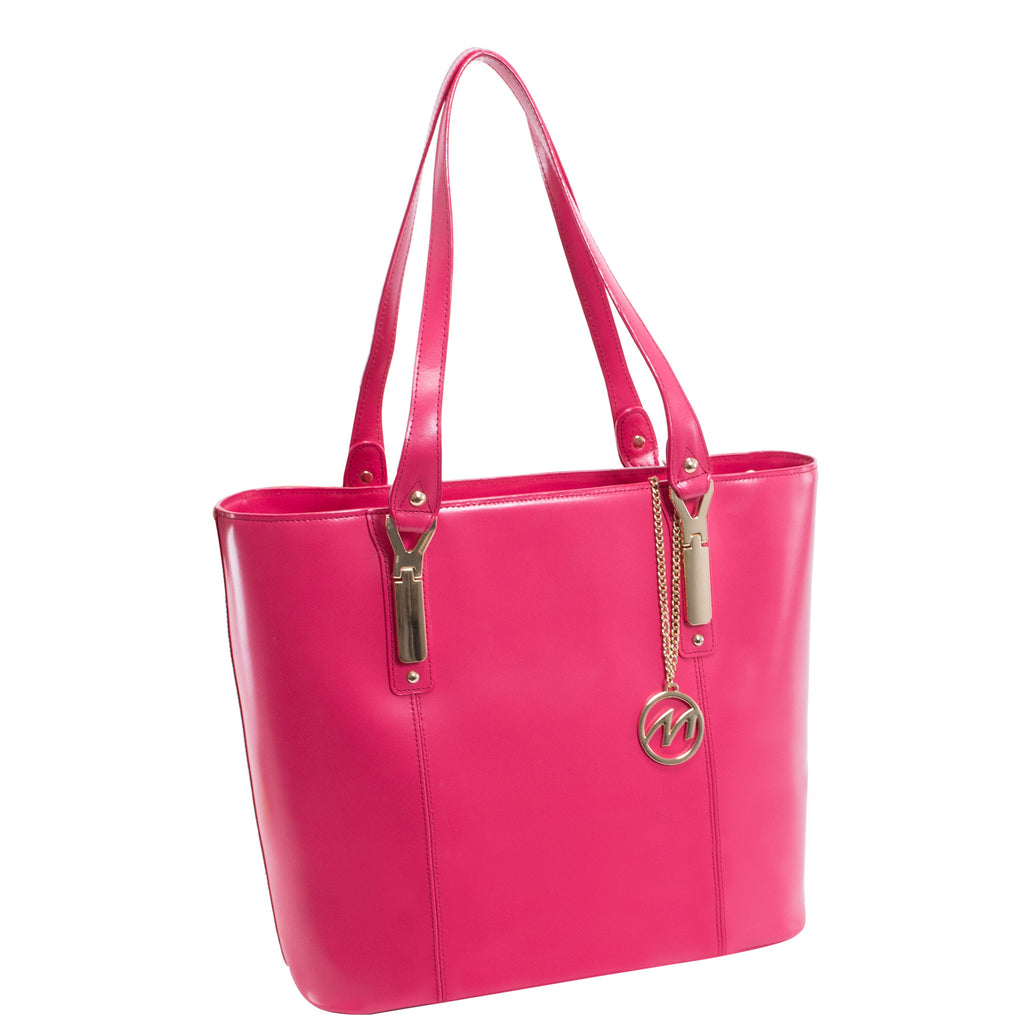 The Savarna Leather Shoulder Tote - Thepinkstore.com - 1