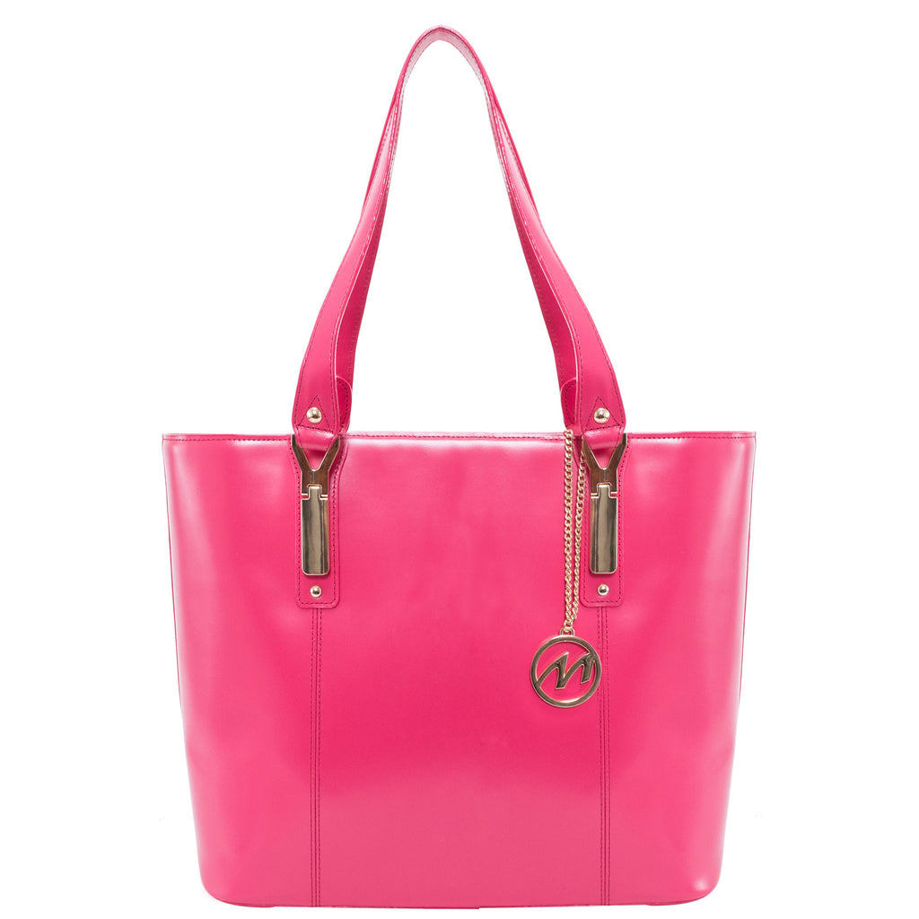 The Savarna Leather Shoulder Tote - Thepinkstore.com - 2