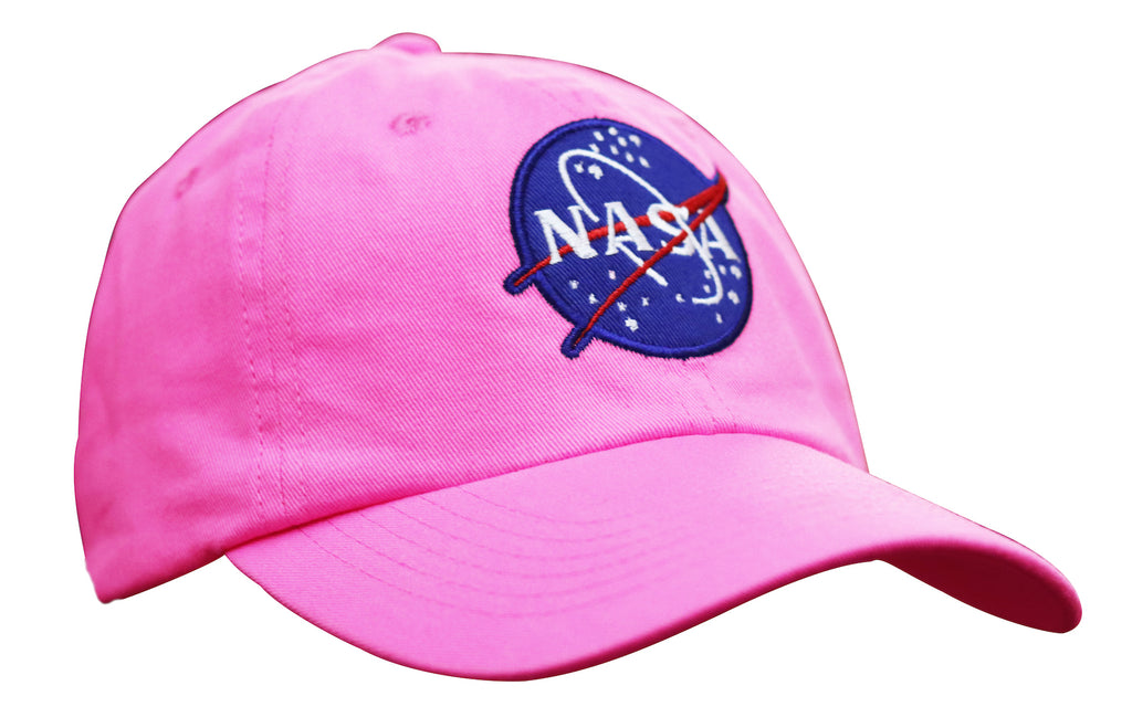Pink NASA Youth Cap
