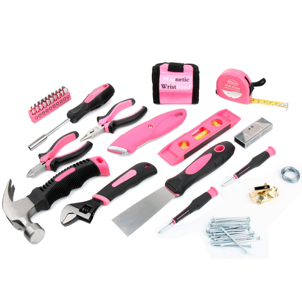 72 Piece Household Tool Kit - Thepinkstore.com - 2
